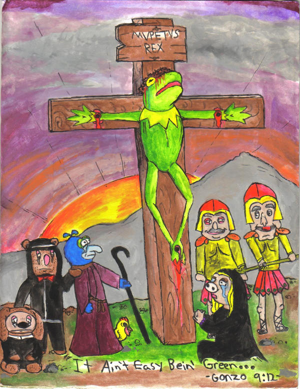 Passion of the Muppet colored by LordEnrique