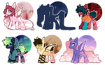 pone adopts - Mystery Aesthetics - 1/6 OPEN by cutsey-adopts