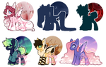 pone adopts - Mystery Aesthetics - OPEN by cutsey-adopts