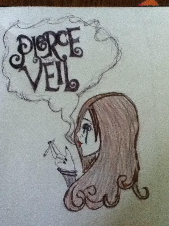 pierce the veil logo drawing by sarahlowe97 on deviantart