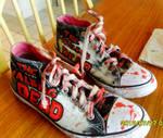 The Walking Dead shoes