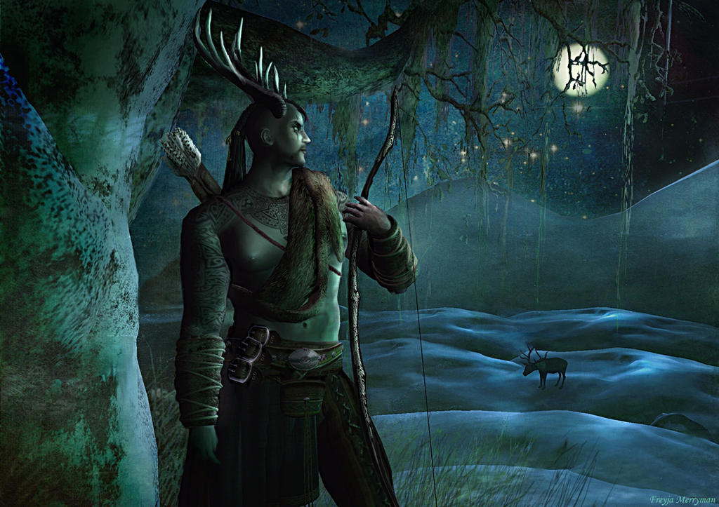 Yule herne the hunter by freyja m