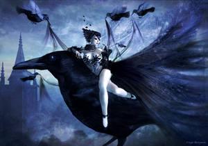 Raven by Freyja-M