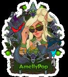 BlizzconBadge - AmellyPop