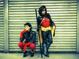 Keeping Watch -SuperboyRobin by dishenvy