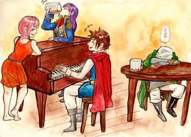 Final Fantasy 5 - NA KA MA by Rin-Uzuki