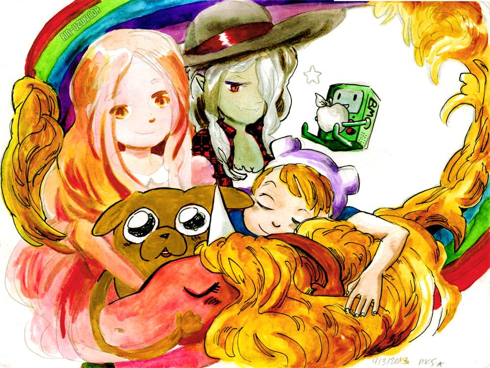 Adventure Time - HAPPY by Rin-Uzuki