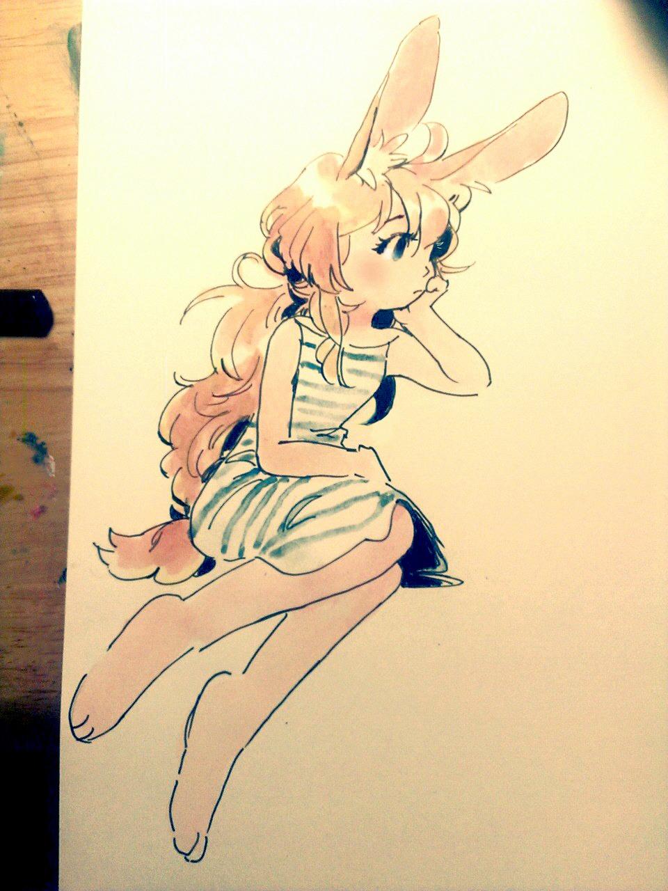 Club Crab - Rabbit Julia by Rin-Uzuki on DeviantArt