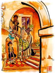 fiddery commission 2: Halls of Hogwarts