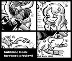 Adventure Time Bubbline Book Foreword Preview!