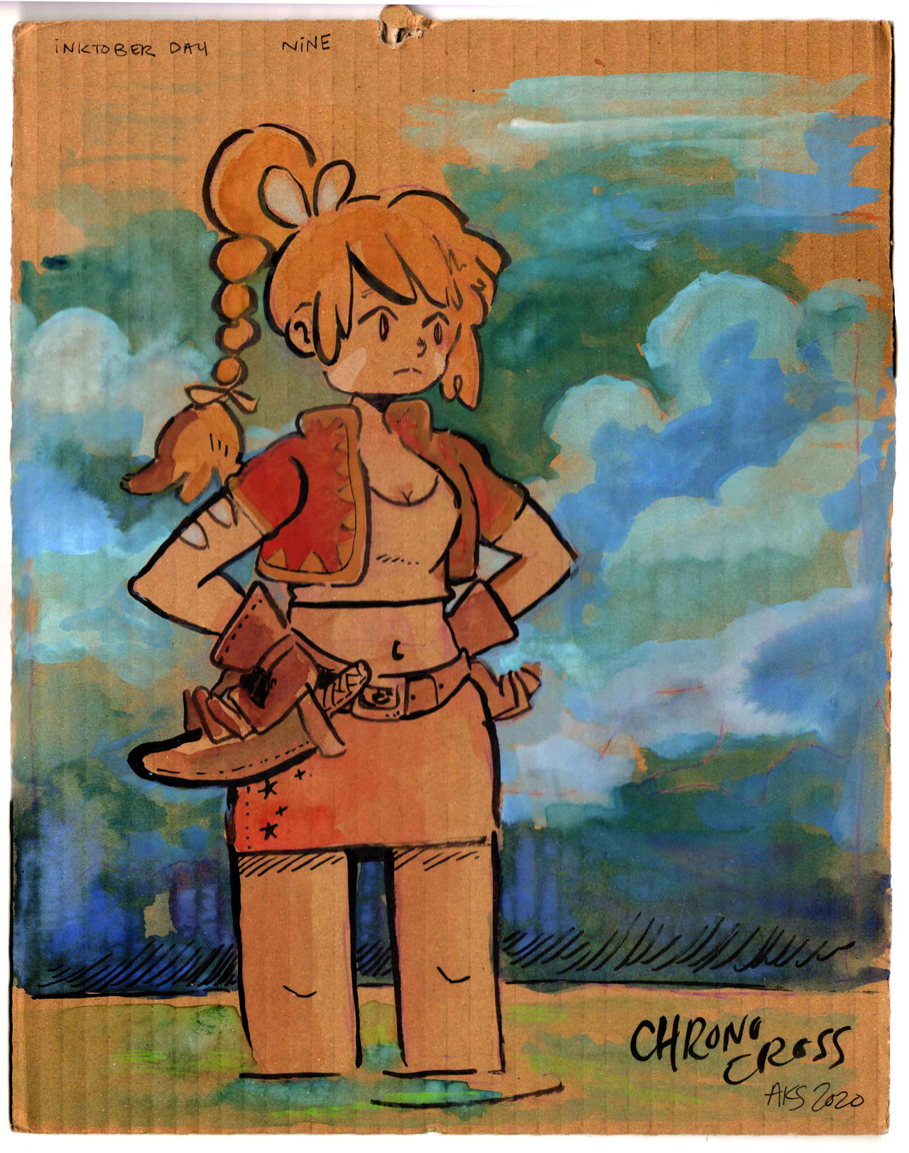 Inktober Day09 Chrono Cross