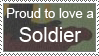 Proud to Love a Soldier by MaSucree