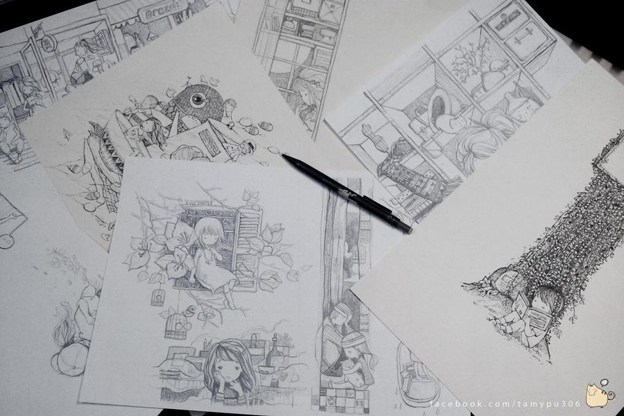 Tamypu's sketchs by tamypu
