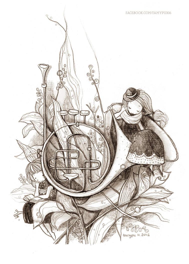 Trumpet by tamypu
