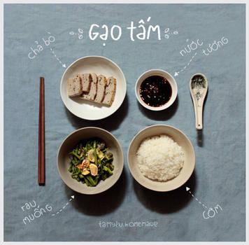 My basic lunch . by tamypu