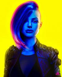 Angelina Cyberpunk