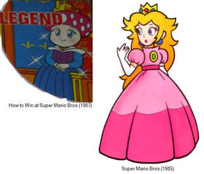 SMB - The Difference about the Princesses