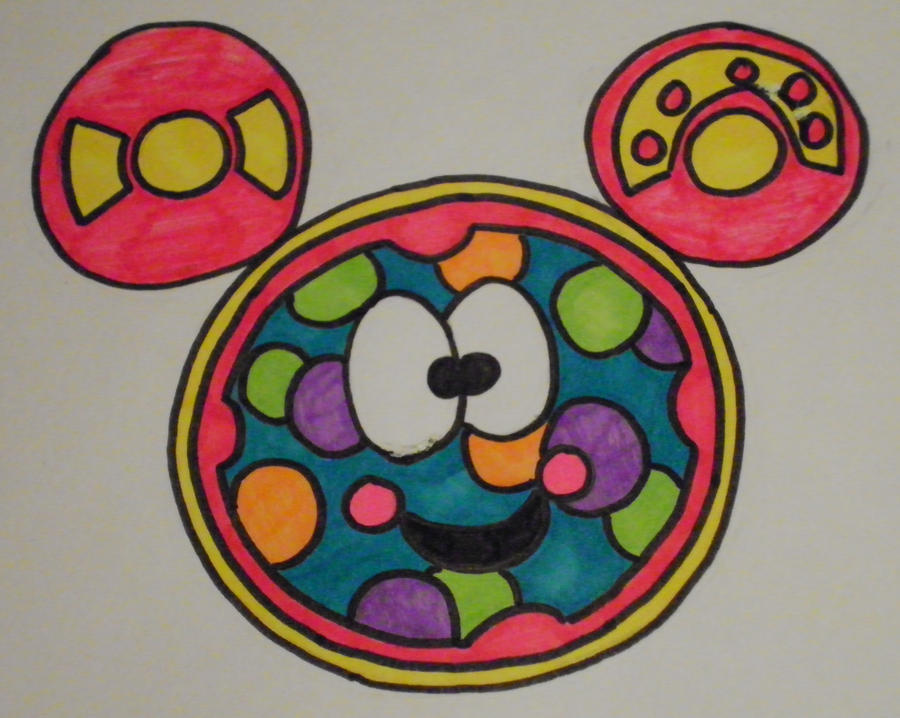 mickey mouse toodles clipart - photo #41