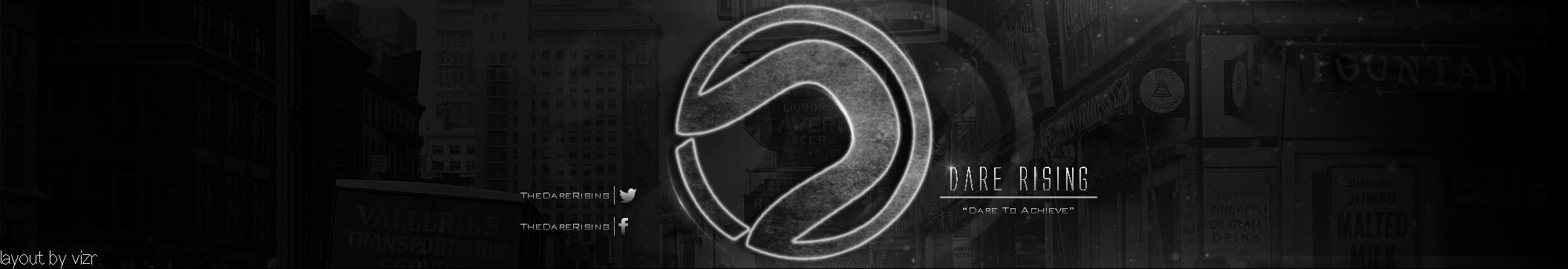 Darerising Logo  3min creations  darerisingDarerising Logo