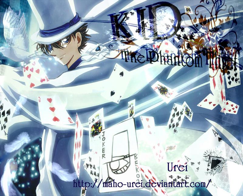 Kaitou KID by Maho-Urei
