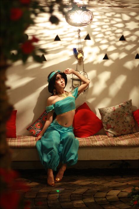 Jasmine from Aladdin by Maho-Urei
