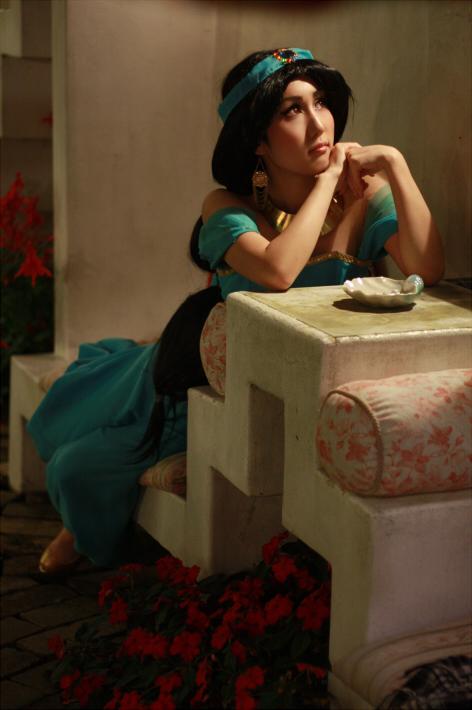 Princess Jasmine by Maho-Urei