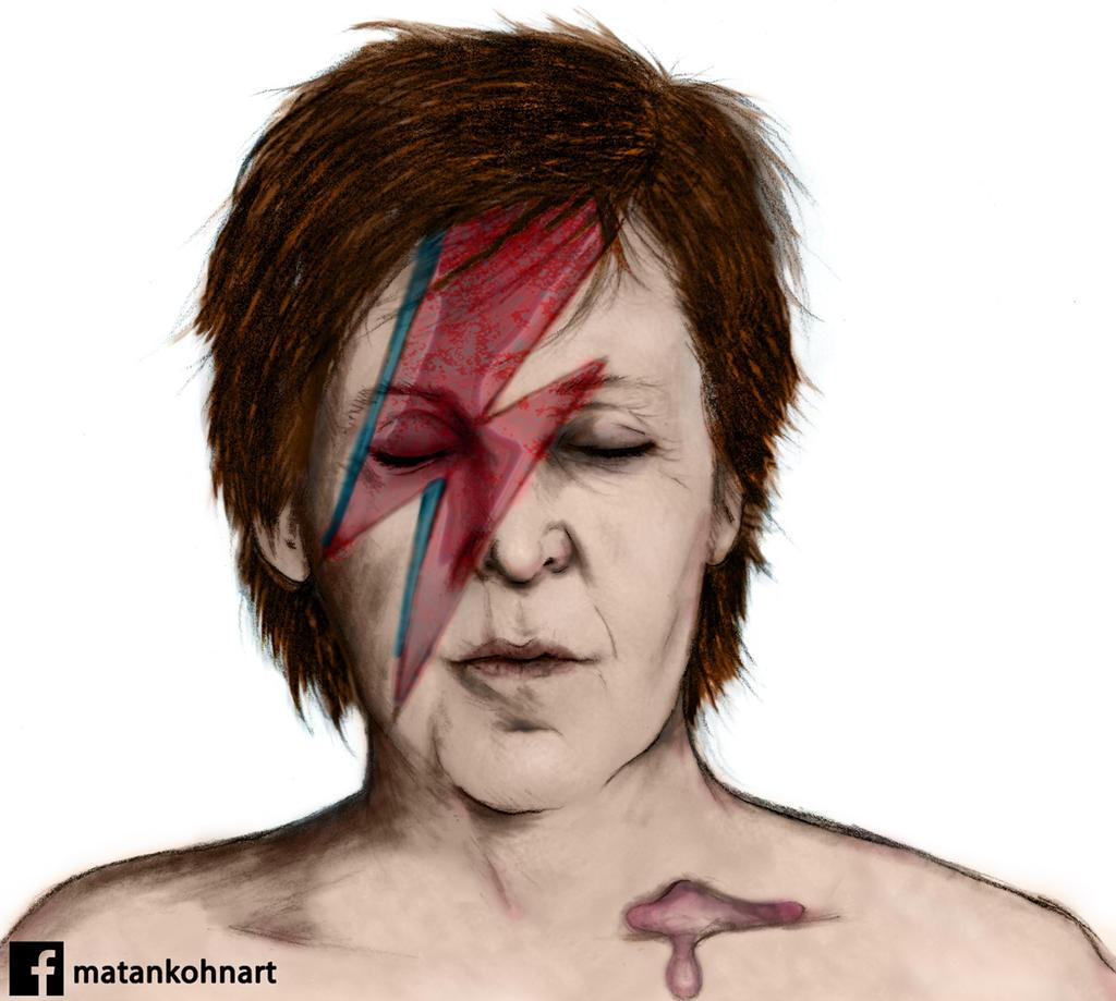 Paul Mccartney Ziggy Stardust By Matan30