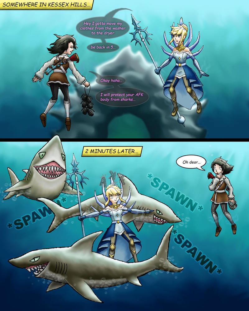 guild wars 2 how to swim underwater