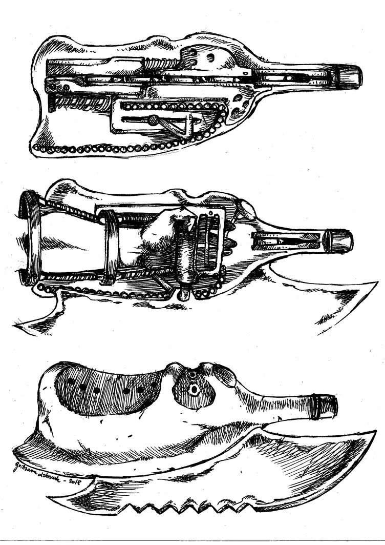 Karmastellar - Daggerifle design works. by Labrude