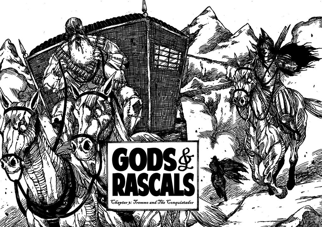 GODS and RASCALS - Chapter 3 - P. 01/20 by Labrude