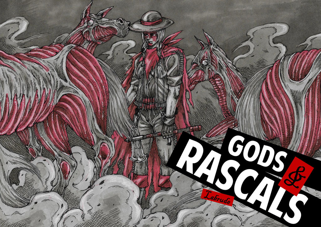 GODS and RASCALS - Cover by Labrude