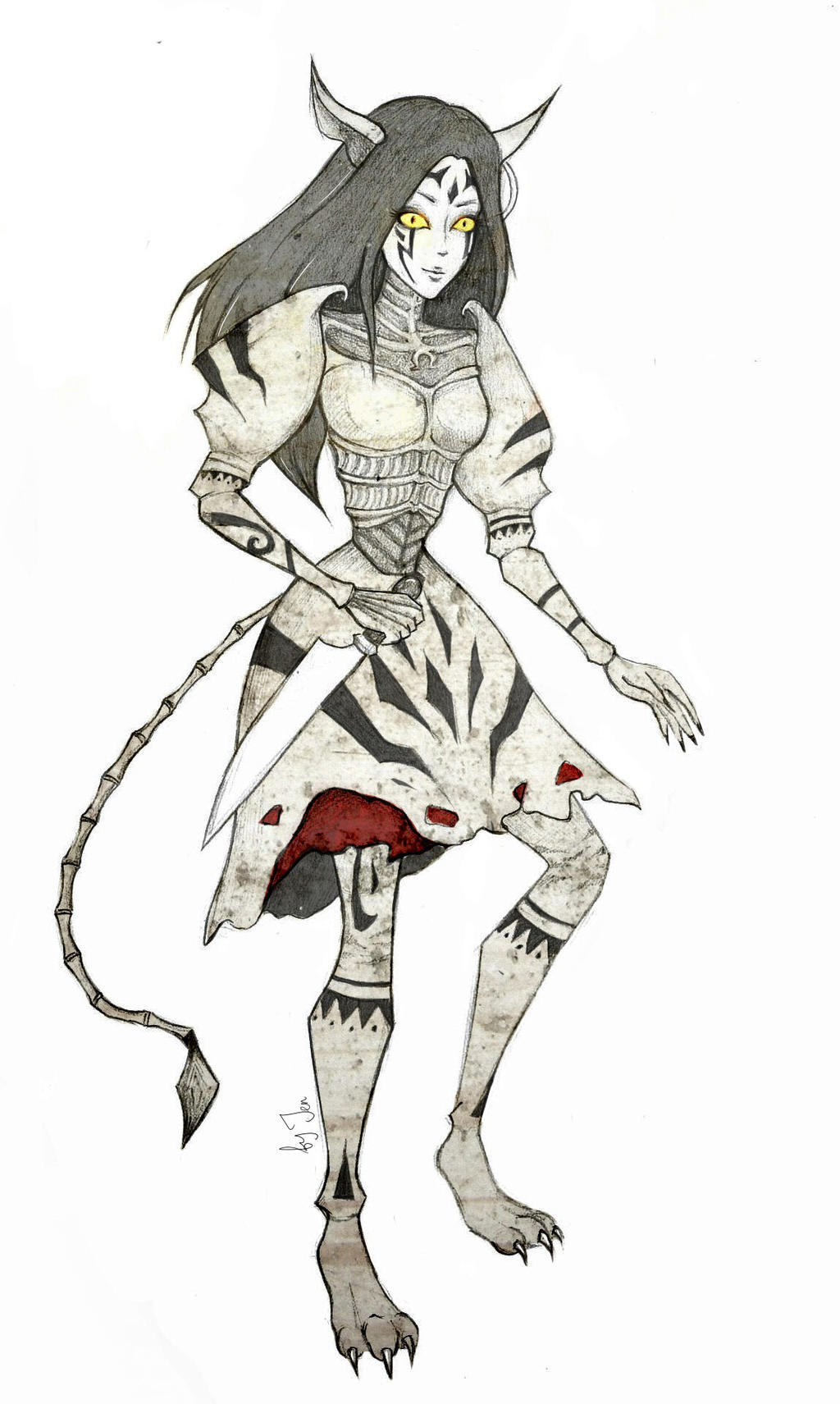 Alice Chesire Dress by jenpurpur