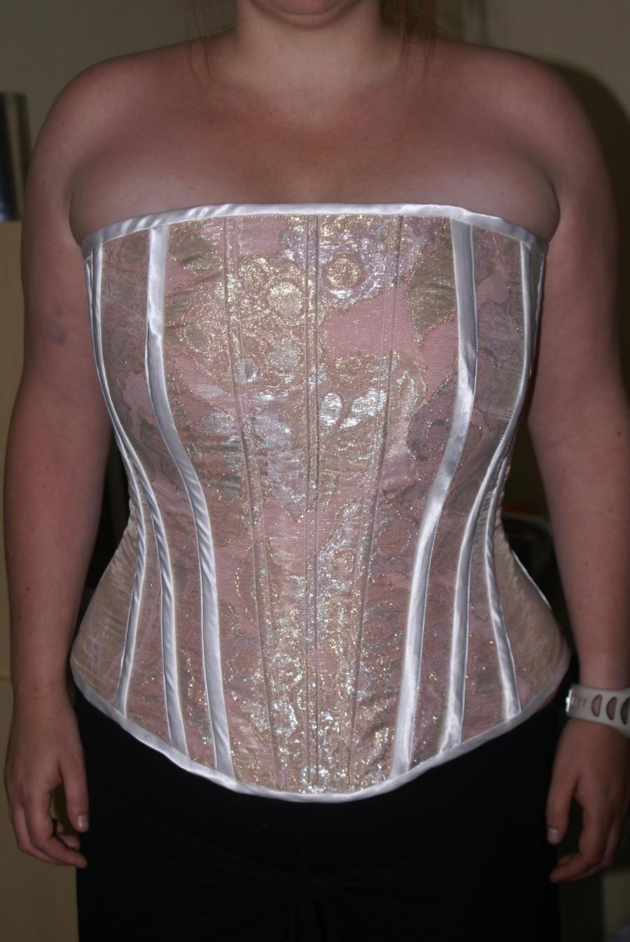 steel boned wedding corset by viogeminidesigns on deviantart On steel boned corset wedding dress