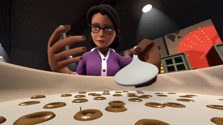 Miss Pauling Unaware Vore [Made by TheProky]