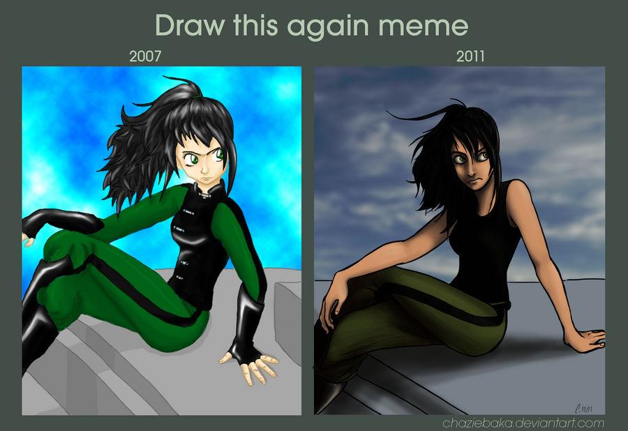 Draw this again meme - Dura