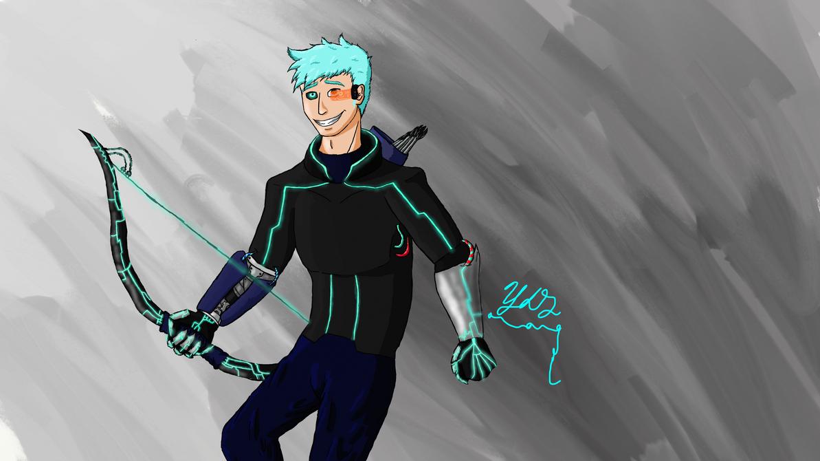 Bionic Bowman by Yodawgyoutalkin2me