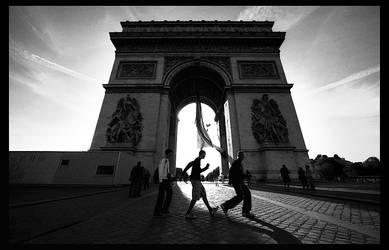 L'Arc de Triomphe...