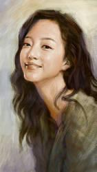 lovely asian girl  by lexusright