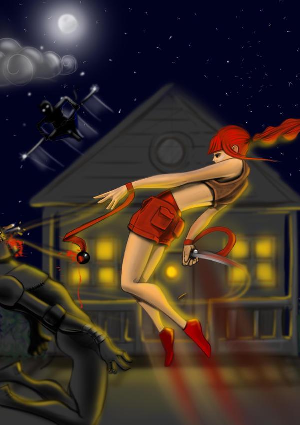 jumpinggirl by mustafasoydan