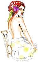 watercolor - fashion