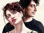 Amanda Palmer and Neil Gaiman