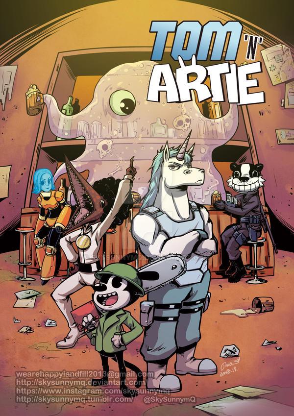 Tom N Arite Cover by SkySunnymQ