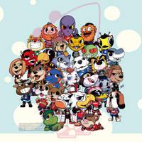 NHL Mascots Chibis
