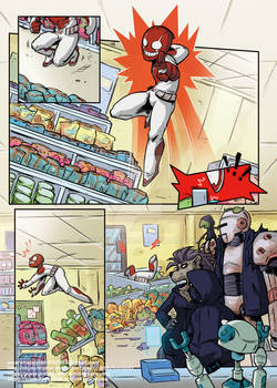 CLAYMAN HERO OF THE 22ND CENTURY ONE SHOT Page 4