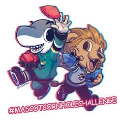 MascotCornholeChallenge
