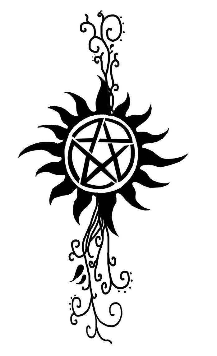 Anti-possession tattoo by Fallenangelcas98 on DeviantArt