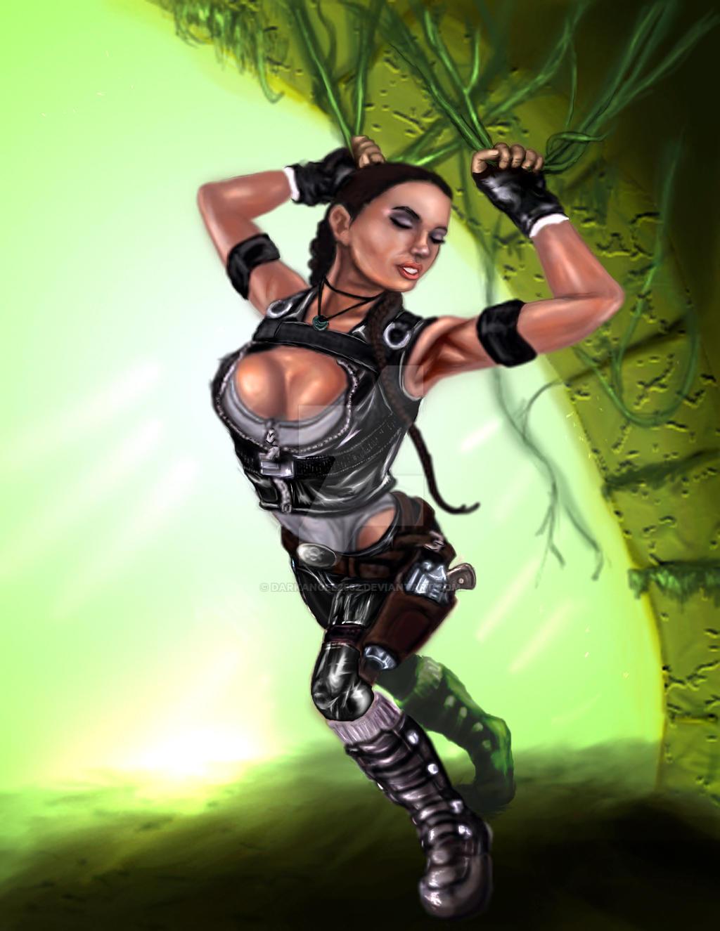 Lara Croft Finis Copy by darkangel2582