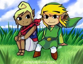 Link Doodle Lee Do by KameStudios