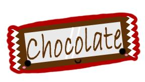 Chocolate Bar Design by GrayMegumi
