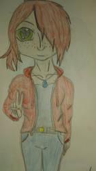 Red Head Girl by aydenmac24